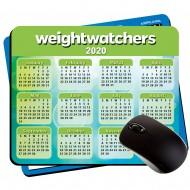 "Large Lightweight Calendar Pads  Plastic  7.75"" x 9.25"" 1/8"" Foam"