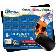 "Premium Large Calendar Pads  Plastic  7.75"" x 9.25"" 1/8"" Rubber"