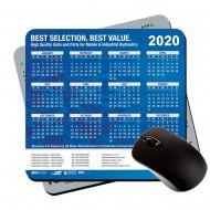 "Medium Ultra Thin Calendar Pads |Plastic| 7.5""x 8"""