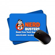 "Large Lightweight Mouse Pad |Plastic| 7.75""x9.25"" 1/8"" Foam"