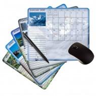"Scenic Seasons Mouse Paper |Calendar| 7.25x8.5"" 12 Months"