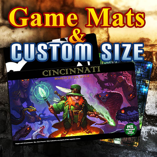 Game Mats, Playmats & Custom Sized
