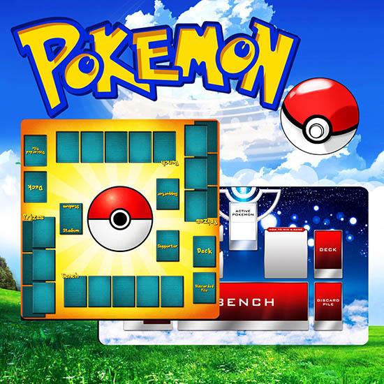 Pokémon Custom Playmats