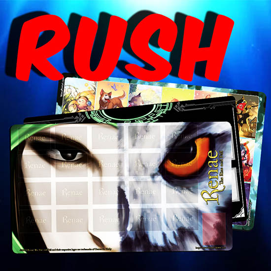 RUSH Game Mats & Playmats
