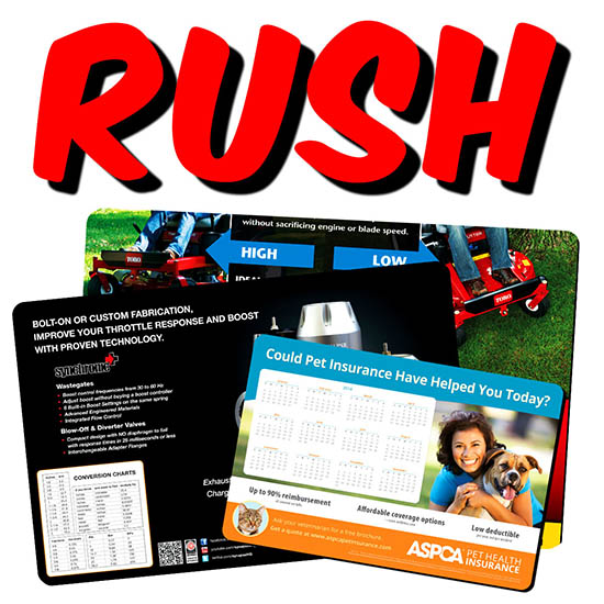 RUSH Counter Mats