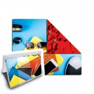 Packaged Microfiber Cleaning Cloth |RUSH| 2 Side Print