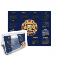 Calendar Cleaning Cloth | Printed and Packaged