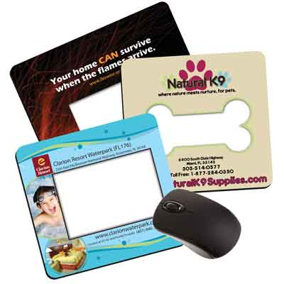 Photo Insert Mouse Pads