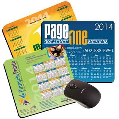 calendar custom mouse pads
